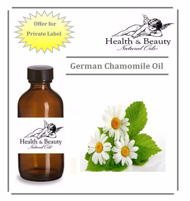 Private Labelling for 100% Pure Chamomile (Wild) Essential Oil