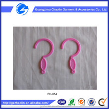 Manufacture high quality small hanger plastic hook for mosquito net