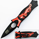 multi color stainless steel folding blade knife useful camping pocket knife