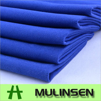 Mulinsen Textile Woven Dyeing TC Cotton Polyester Twill Fabric