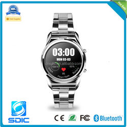2014 Waterproof Bluetooth Smart Watch WristWatch Phone with Camera Touch Screen