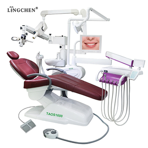 Guangzhou factory dental chair price with microscope x ray from china dental unit