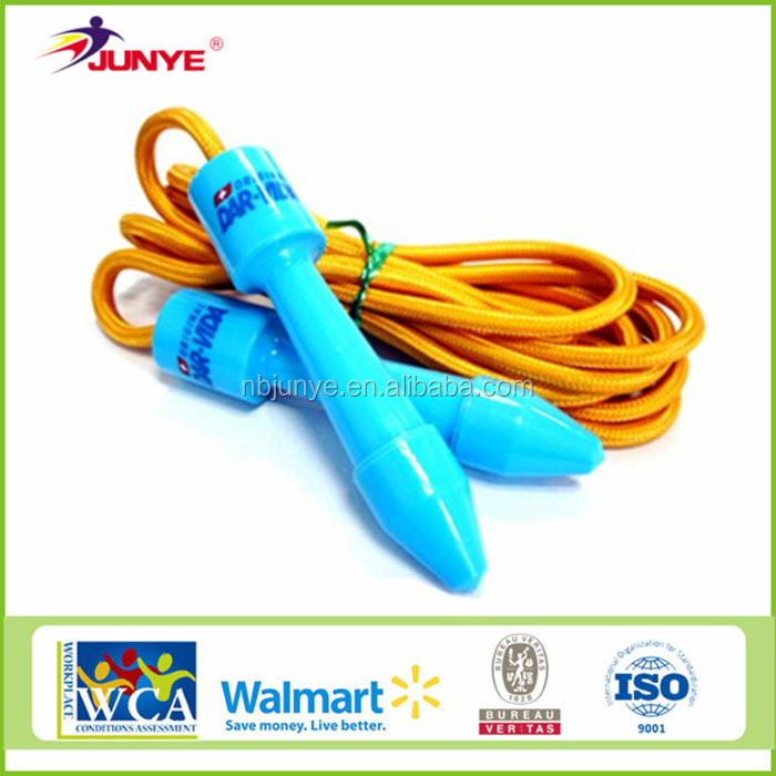 Wholesale in china cartoon wooden skipping rope