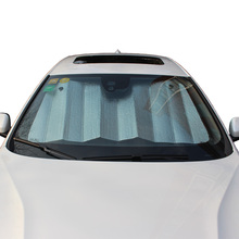 High quality automatic car and bus sun shade