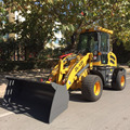 1.2T hydraulic mini wheel loader ZL12F with Snow tires