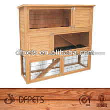 Outdoor Wooden Rabbit House Pet Cage DFR034