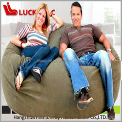 Sponge+removable cover Material and Sofa Type foam sofa beanbags