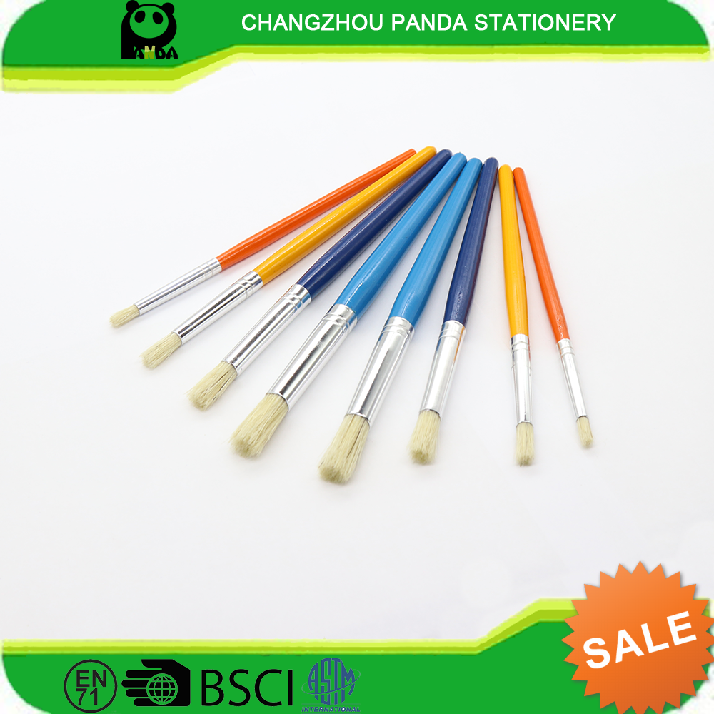 8pcs best art brush professional set for acylic and oil from Jangsu