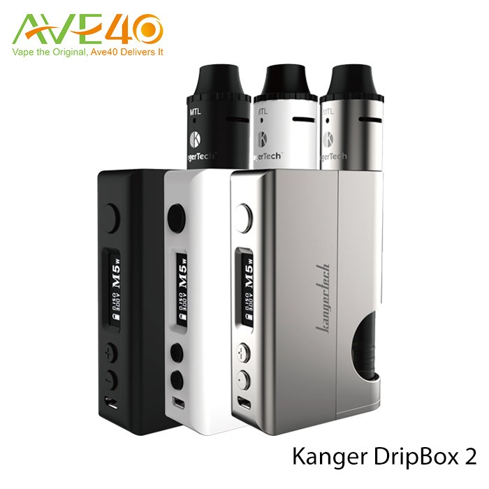 Rokok vapor 80W 7ml Kanger Dripbox 2 Kit e vapes for sale