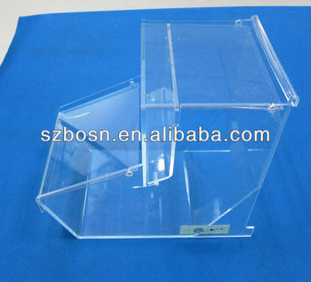 Acrylic Sweet Bin/ Perspex Sweet Case/ Lucite Sweet Box with Cover