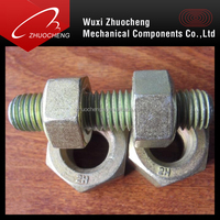 carbon steel hdg A193 B7 high tensile stud bolts