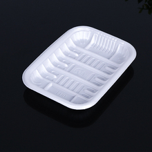 Disposable Pp Rectangle Blisters Plastic Frozen Food Tray For Vegetable Fruit