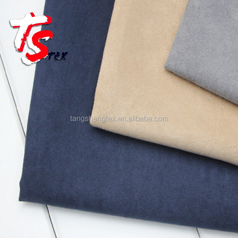 100% Polyester Micro Suede Fabric for Sofa, Shoes