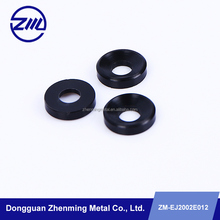 POM/PC Material CNC machining black parts