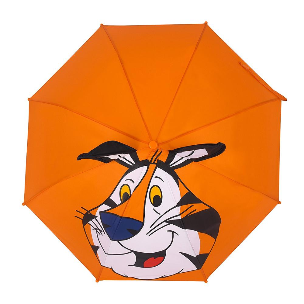 animal cartoon portable tiny automatic funny umbrellas for children
