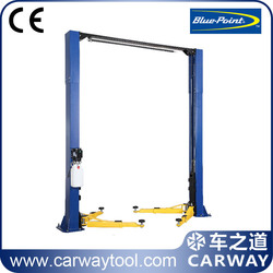 Blue Point clear floor 2 post car lift 4.0 tons