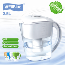 WellBlue activated carbon water filter pitcher with CE RoHS FDA