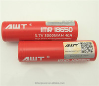 4.5v rechargeable battery e-hookah rechargeable battery 18650 battery