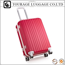 TOURAGE Red Suit ABS Trolley Case , Oem Bubule Charm Luggage