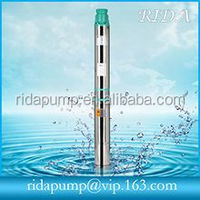 High-Speed Brushless DC Motor Submersible Centrifugal Deep Well Solar pumps for water