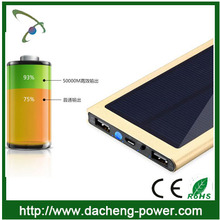 CE ROHS FCC approved solar power kits solar power bank 20000mah