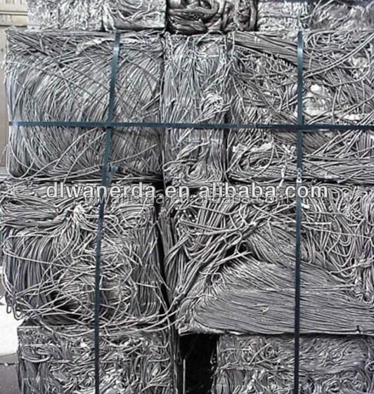 High purity aluminum wire scrap 99.7%