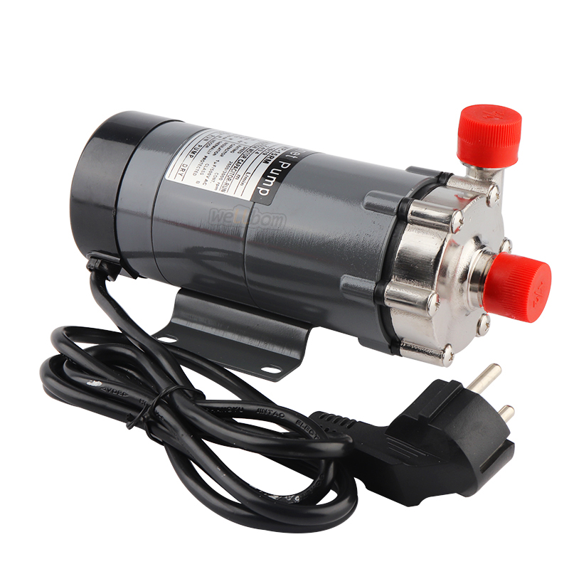 HomeBrew Magnetic Drive Water Pump MP- 15R in Pump Food Grade 304 Stainless Steel Beer 220V Magnetic Drive Water Pump