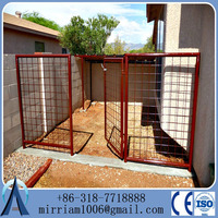 10x10x6 foot classic galvanized outdoor dog kennel/Hot-dipped galvanized welded mesh Dog wire Kennel