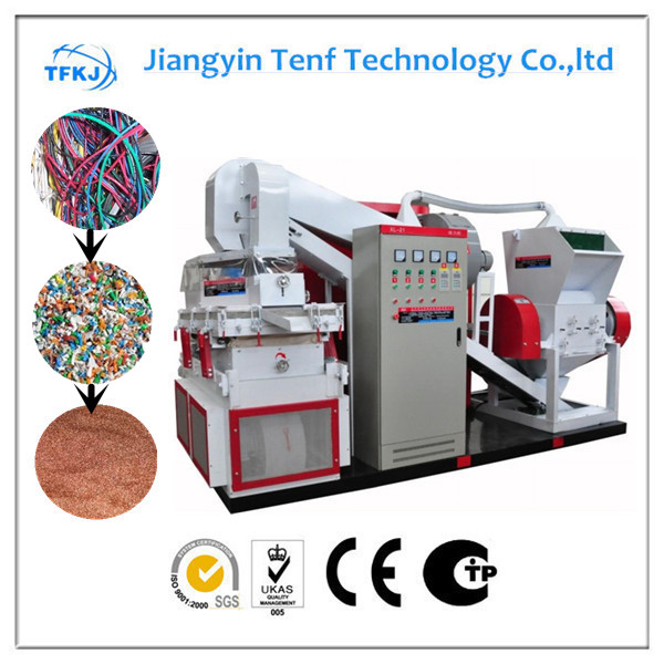 TF600C waste copper wire stripping machine CE