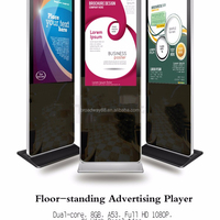 55 Inch Stand Floor Shopping Mall