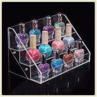 cosmetics acrylic displays/acrylic make-up display,clear acrylic makeup display organizer