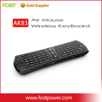 2.4G Mini Wireless Mouse Keyboard Qwerty Build-in Large capacity rechargeable Li-ion Battery 6 axis air fly wireless keyboard