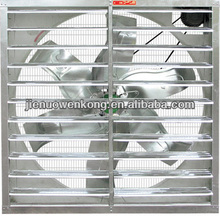 Temperature controlled exhaust fan