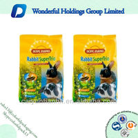 resealable plastic aluminum foil packing bags for pet food