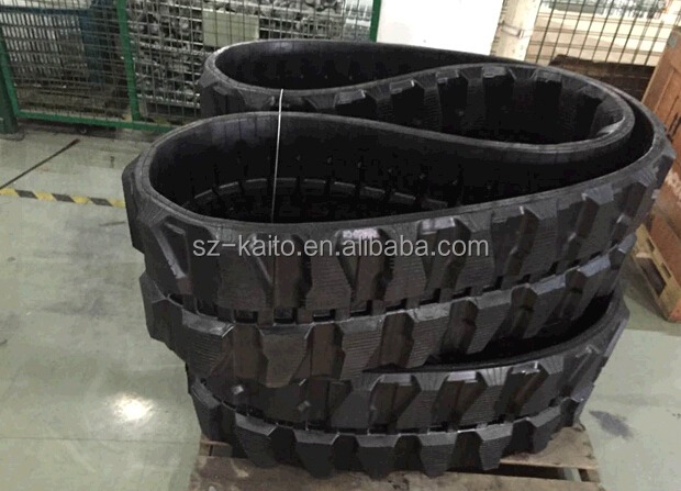 Engineering Rubber Track 470x152.4x52 OEM parts