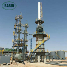 Patented technology high yield mini used oil refinery distillation plant machine equipment for sale