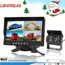 China supplier 7 inch car rear view camera system/backup camera system/parking assist system