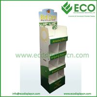 Floor Cardboard Display for Tissue Cardboard Floor Display Stand