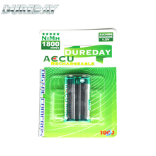 Best manufacture 1800mah AA sealed rechargeable battery