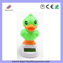 Solar Powered Dancing Duck Toy for car interior decoration