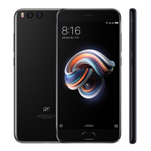 New product xiaomi mi note 3 android mobile phone 64 GB, 6GB RAM Qualcomm Snapdragon 660 16 MP pre-camera smart phone