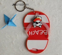 shenzhen manufacture custom 3D pvc mini shoe key ring
