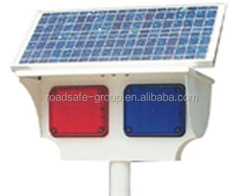 LED Flashing Solar Warning Light
