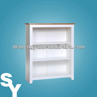 2014 New Design Low KD Wood Bookcase