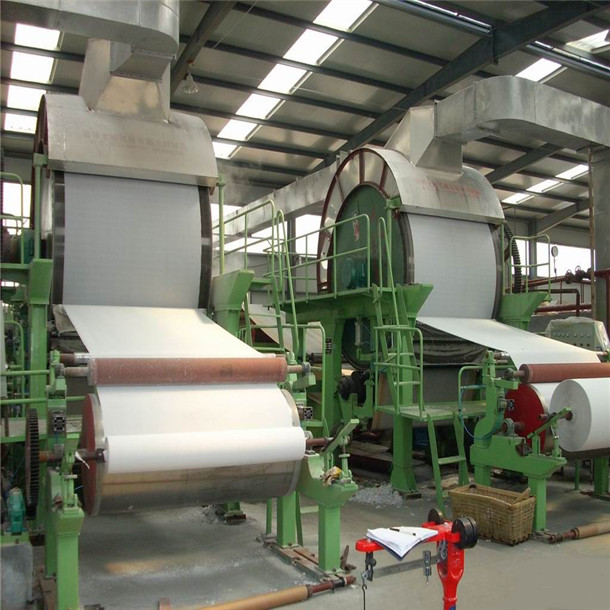 wheat straw and rice straw recycled for toilet paper roll making machine price