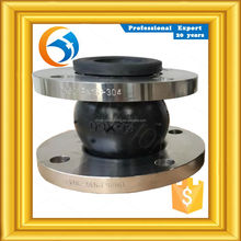 factory directly sale galvanized single bellow rubber expansion joints in usa