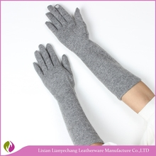 Fashion elbow length warm opera gloves long evening gloves dancing gloves