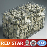 Galvanized Rock Filled Gabion Cages