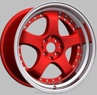 Hot sale 17 inch wheels 5x114.3 car rims for cars