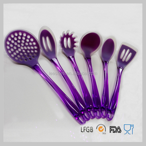 6-pieces silicone kitchen utensils Silicone Cooking Utensils High quality eco-friendly kitchen utensils